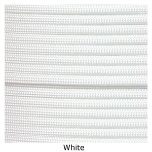 White lacrosse string to put on your lacrosse stick