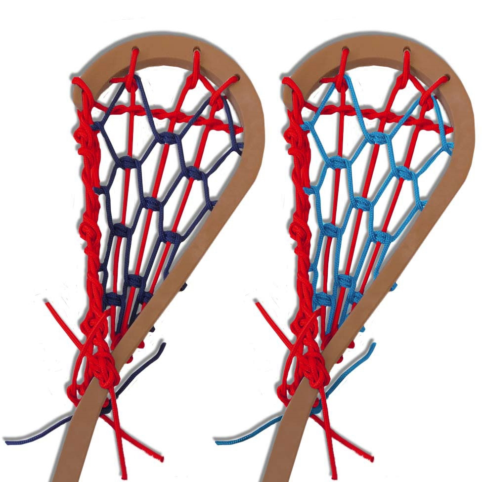 Red Lax Custom Strung Mini Lacrosse Stick Awards For