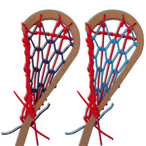 original style lacrosse stick<br>with custom color laces
