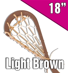 original style lacrosse stick<br>natural and white laces