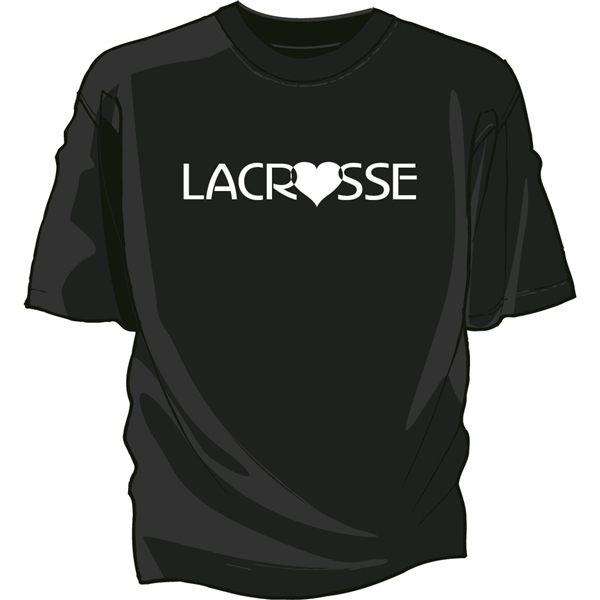 Love Lacrosse Tee Shirt
