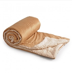 You'll love this very soft sherpa fleece blanket.