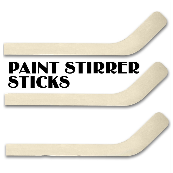 hockey stick paint stirrer