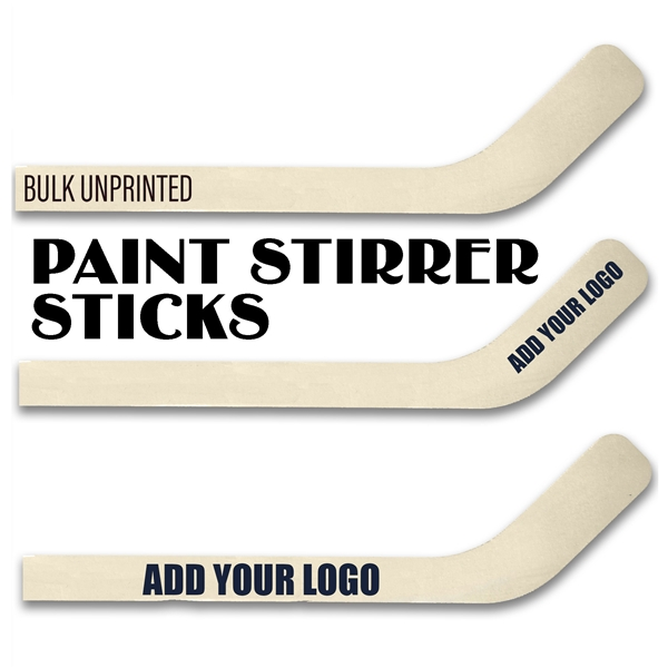 Wholesale Wood Mini Hockey Stick Paint Stirrer
