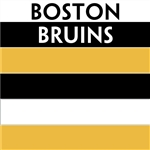 Boston Bruins team colors custom printed mini hockey stick. Personalized mini hockey stick by ministixx.