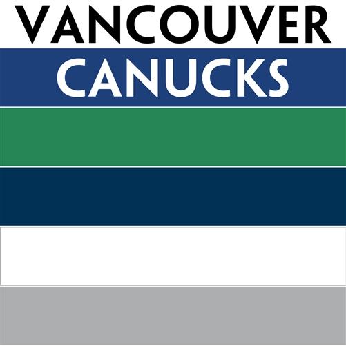 NHL Colors Vancouver Canucks Personalized Mini Hockey Stick