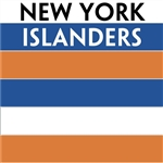 New York Islanders team colors custom printed mini hockey stick. Personalized mini hockey stick by ministixx.