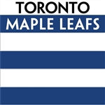 Toronto Maple Leafs team colors custom printed mini hockey stick. Personalized mini hockey stick by ministixx.