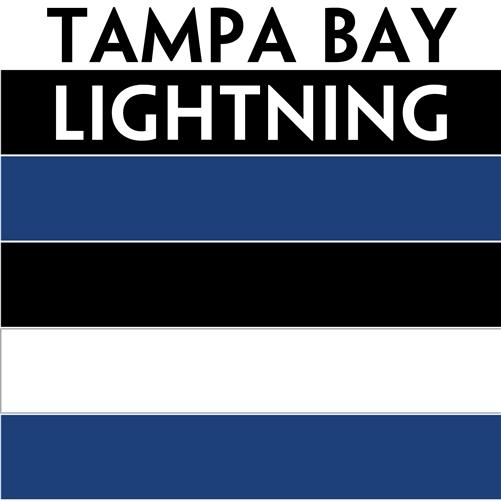 Nhl Colors Tampa Bay Lightning Personalized Mini Hockey Stick