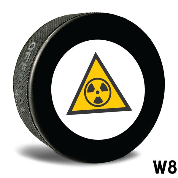 non customizable hockey pucks