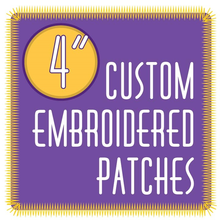 Custom Embroidered Patches 4 0