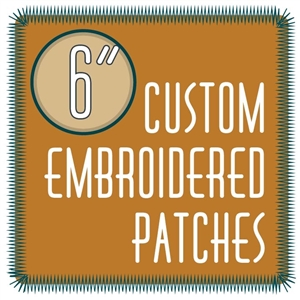 "custom patches 6.0"" embroidered custom embroidered patches 6.0"""
