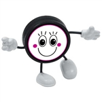 hockey puck figure hockey guy
