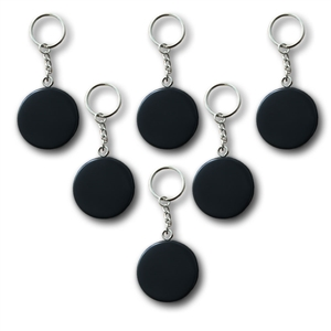 key chain hockey puck, official hockey puck key chain