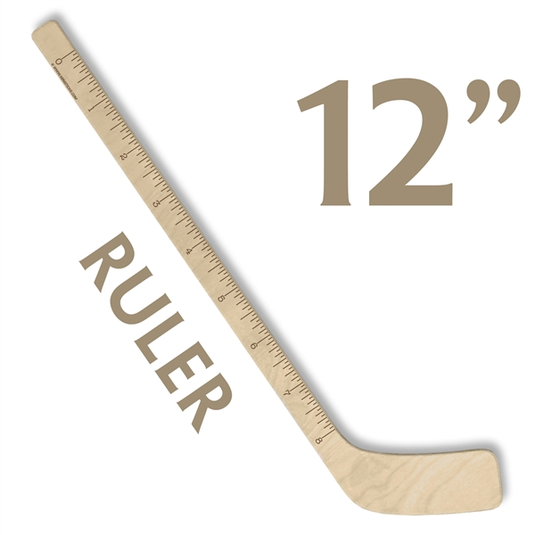 hockey stick ruler