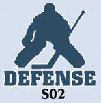 DEFENSE <br>hockey tee shirt
