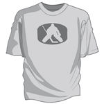 Goalie On Puck hockey tee shirt hockey gift