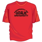 Goalie University Tee Shirt
