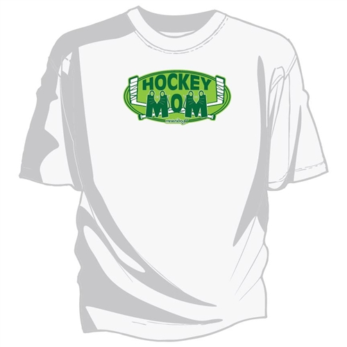 Hockey Mom Tee Shirt
