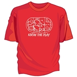 Know The Play Tee Shirt
