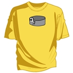 Happy Puck hockey tee shirt hockey gift