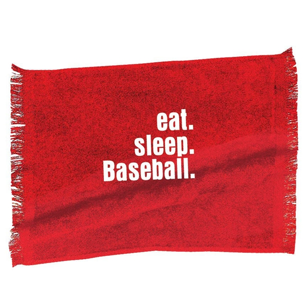 Eat. Sleep. Baseball. sport towel