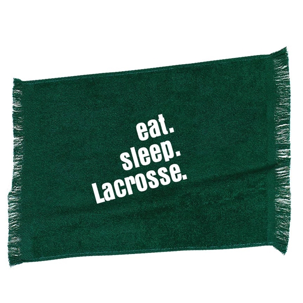 Eat. Sleep. Lacrosse. sport towel