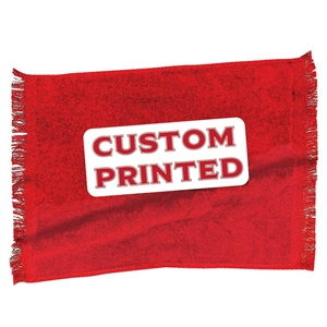 CUSTOM PRINTED TOWEL <br>Personalized Sport Towel