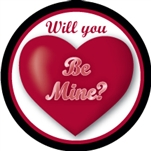 Custom hockey pucks are collected by many and this one is Valentine Puck o2 in the series of  custom printed pucks