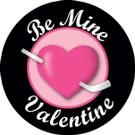 Custom hockey pucks are collected by many and this one is Valentine Puck o3 in the series of custom printed pucks