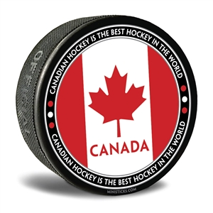 world junior hockey Team Canada, Team Canada hockey puck