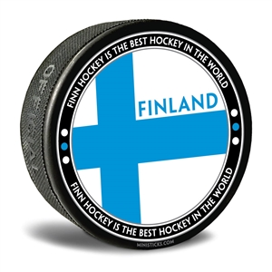 world junior hockey Team Finland, Team Finland hockey puck