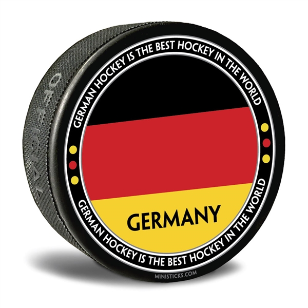 world junior hockey Team Germany, Team Germany hockey puck