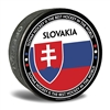 world junior hockey Team Slovakia, Team Slovakia hockey puck