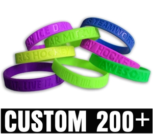Custom Debossed Wristband<br>200+