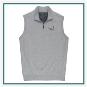 Fairway & Greene Men Baruffa Merino Windvest, Peter Millar Corporate Vests, Peter Millar Branded Vest