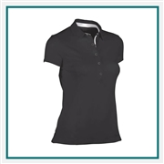 Zero Restriction Halle Embroidered Polos