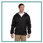 Dickies Fleece Lined Hooded Nylon Jacket 33-237, Dickies Corporate Workwear, Dickies Custom Logo Workwear