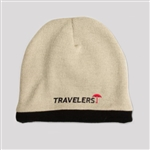 AHEAD Knit Fleece Toque Beanie Embroidered Logo