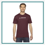 American Apparel US Fine Jersey T-Shirt Custom Logo