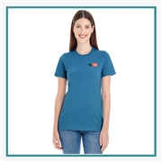 American Apparel Ladies Organic Fine Jersey Classic T-Shirt Printed Logo