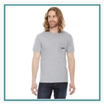 American Apparel Unisex Fine Jersey Pocket T-Shirt Custom Branded