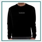 American Apparel Crew Sweatshirt Custom Embroidery