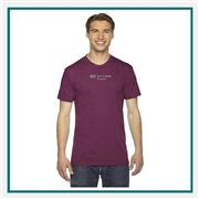 American Apparel Triblend TR401W Embroidery