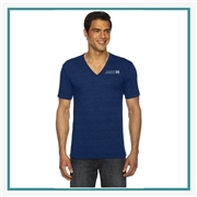 American Apparel Unisex Triblend V-Neck Silkscreened Corporate Logo