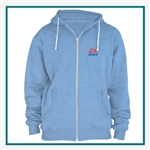 American Apparel Unisex Triblend Full-Zip Hoodie Silkscreened