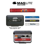 Maglite Solitaire LED 1AAA Flashlight Digital Imprint, Maglite Custom Printed Flashlights, Maglite Mini Custom Logo