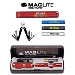 Maglite Solitaire Flashlight & Multi-Function Tool Combo Digital Imprint, Maglite Custom Printed Flashlights, Maglite Mini Custom Logo