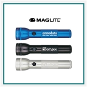 Maglite LED 2D Flashlight Digital Imprint, Maglite Custom Printed Flashlights, Maglite LED Custom Logo