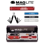 Maglite Solitaire Flashlight & Multi-Function Tool Combo with Laser Engraving, Maglite Custom mini Flashlights, Maglite Custom Logo Flashlight